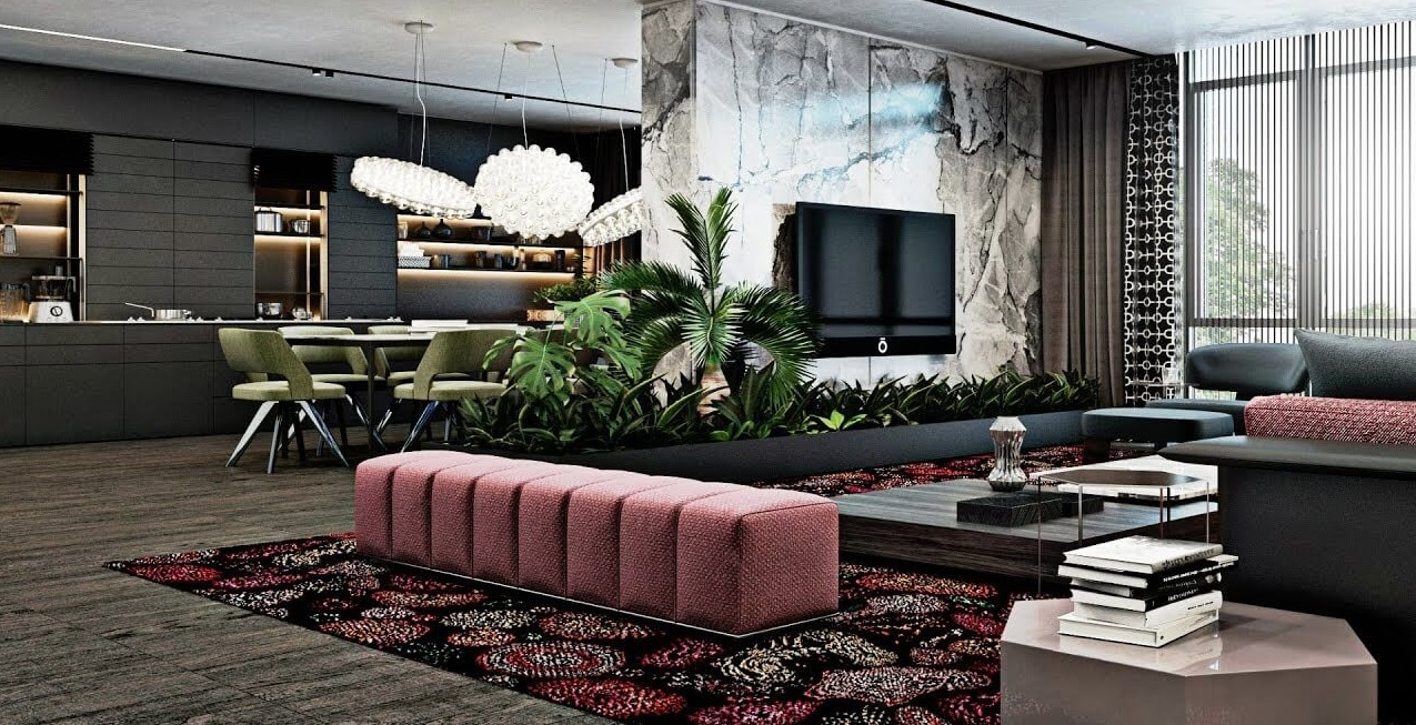 дизайн 2 кімнатної квартири
