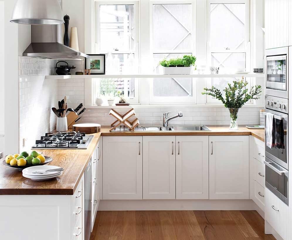 дизайн дуже маленької кухні