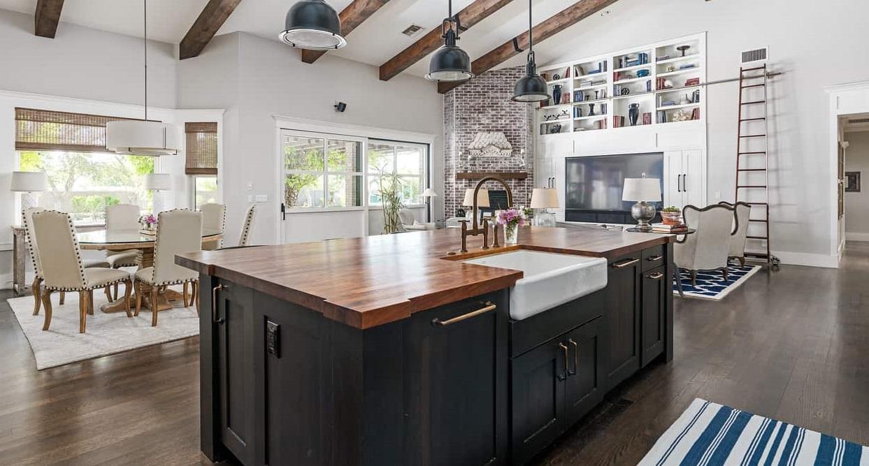 кухня вітальня дизайн