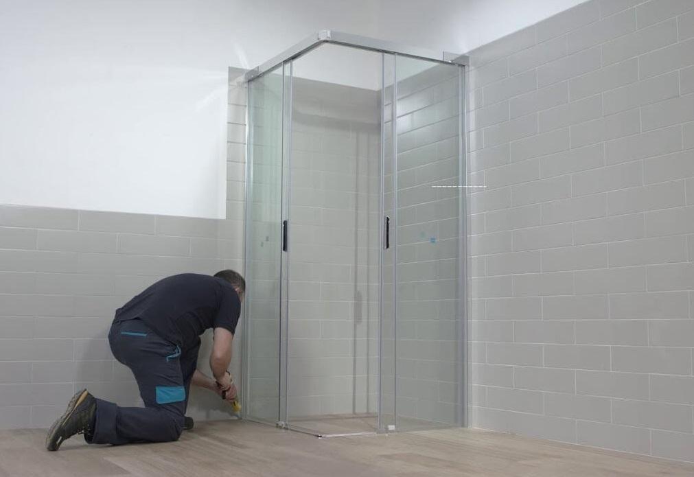 монтаж душової кабіни львів