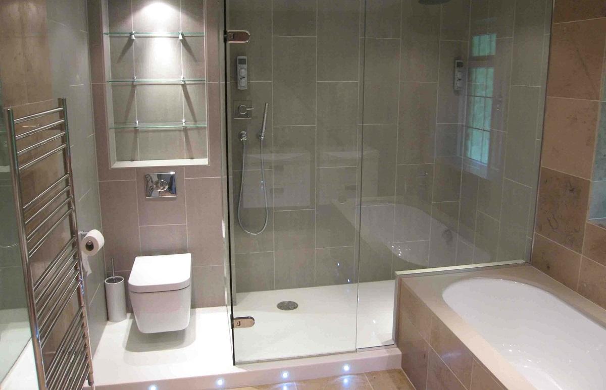 установка душової кабіни