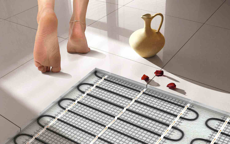 встановлення теплої підлоги
