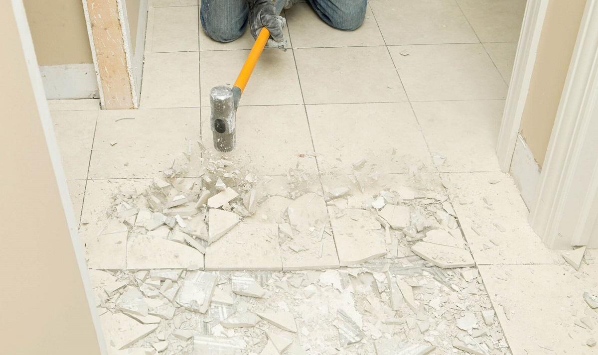 демонтаж підлоги