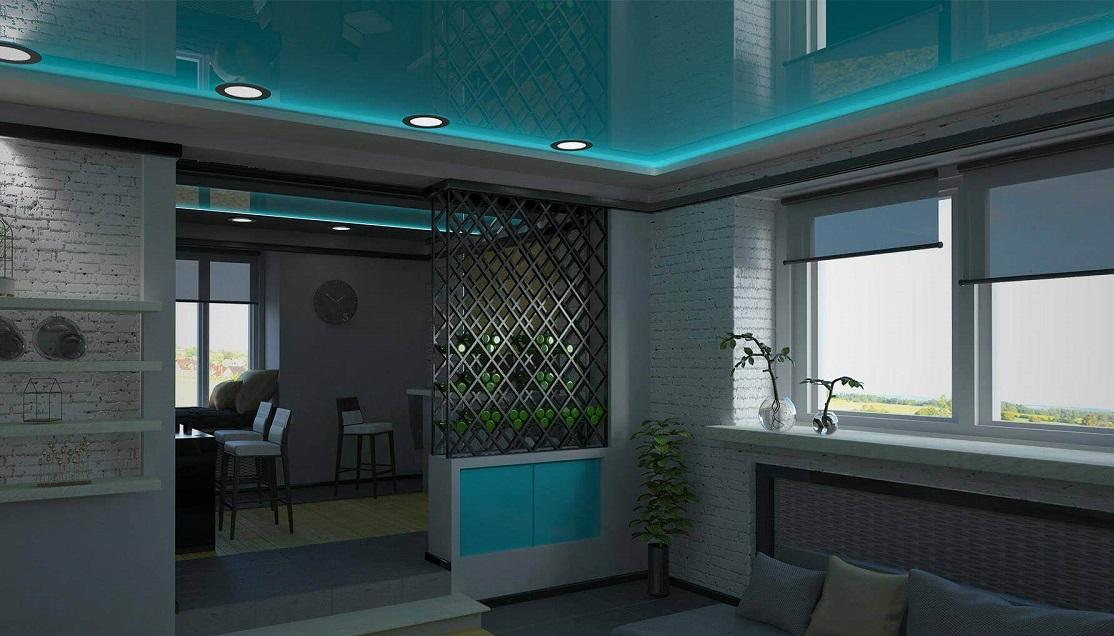 Натяжні стелі дизайн