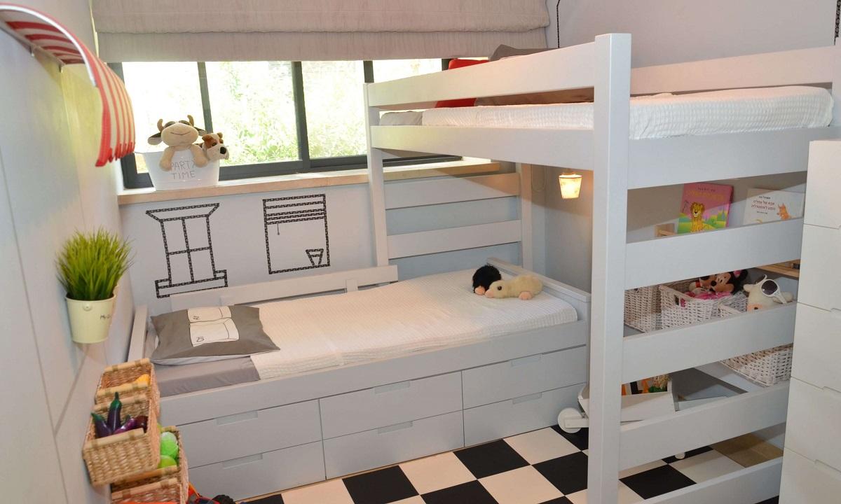 дитячі кімнати для хлопчиків на двох