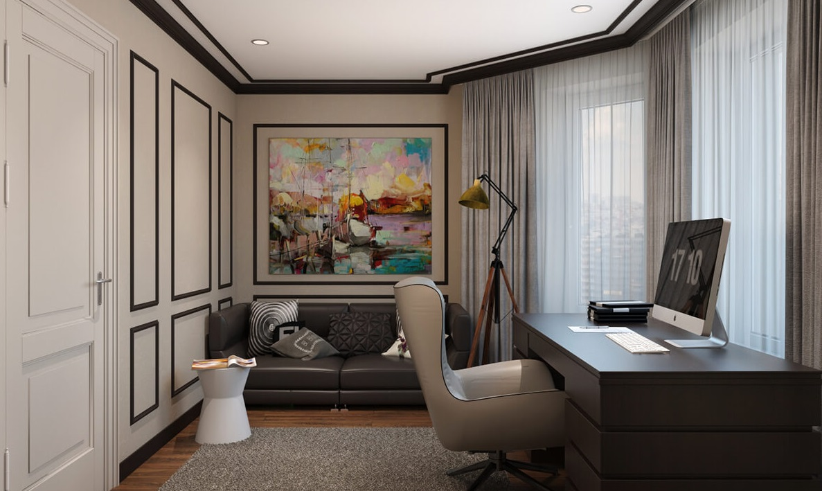 дизайн домашнього кабінету