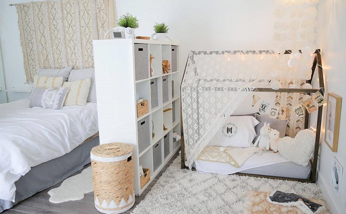 дизайн спальні та дитячої разом