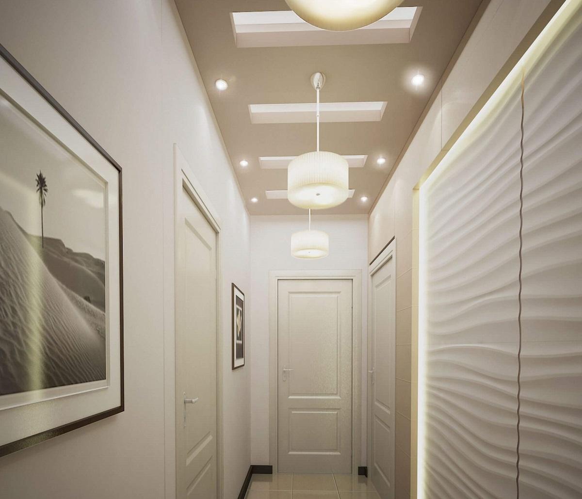 підвісні стелі в коридорі
