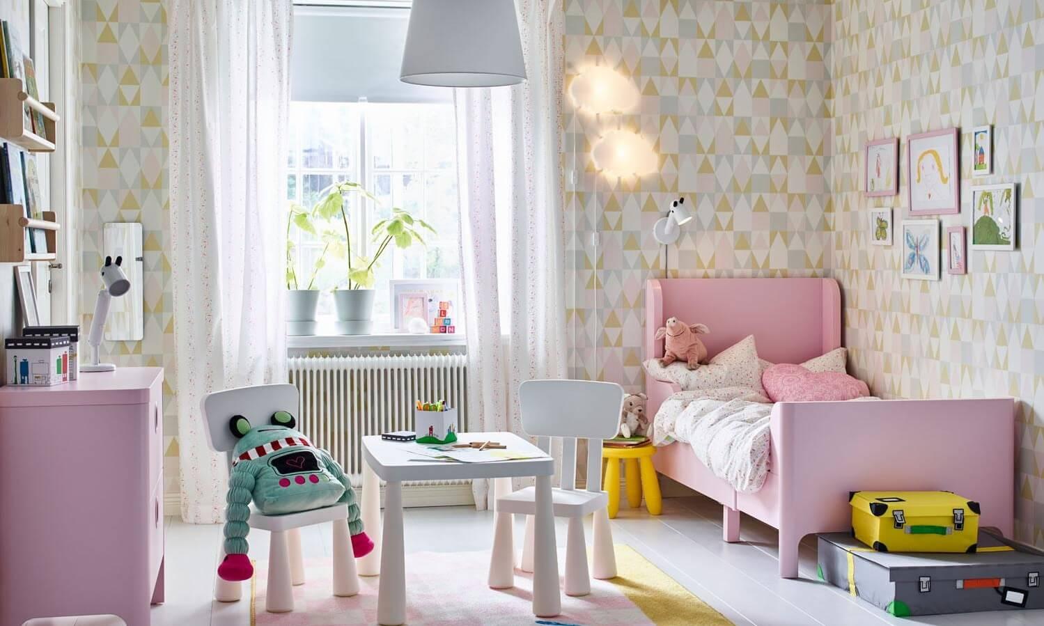 ремонт дитячої кімнати для дівчинки